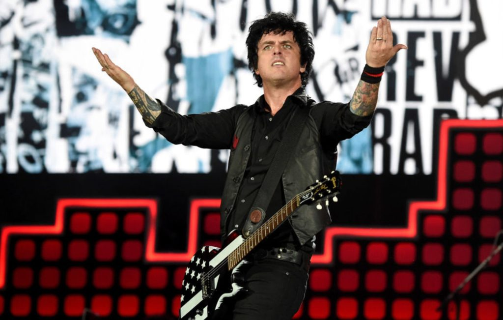 Green Day nieuw nummer 'Here Comes The Shock'