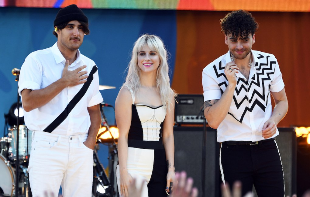 Paramore remove poster featuring names of police brutality victims from sale following criticism, Shop Ticket Snatchers