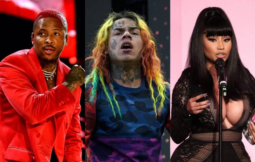 , YG says he won't work with Nicki Minaj again because of 6ix9ine connection, Shop Ticket Snatchers, Shop Ticket Snatchers
