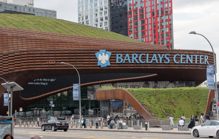 Barclays Center in New York