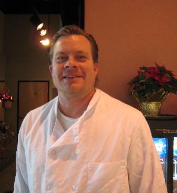 Albuquerque's celebrity chef, the indefatigable Jim Whte