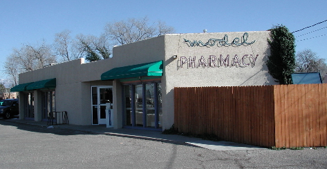 The Model Pharmacy, a welcome anachronism!