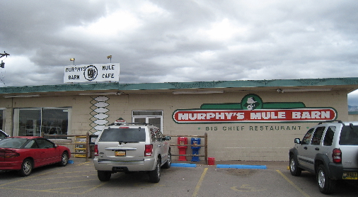 Murphy's Mule Barn in the far North Valley.