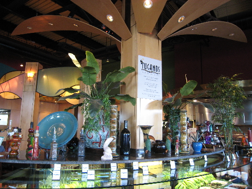Tucano's salad bar