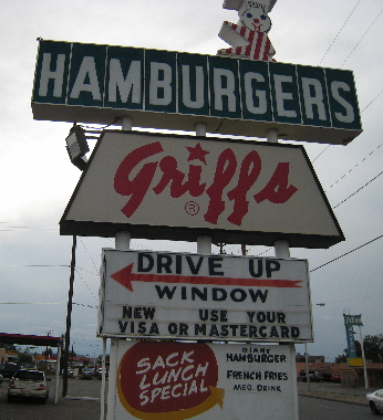 Griff's on Central Avenue, an Albuquerque institution!