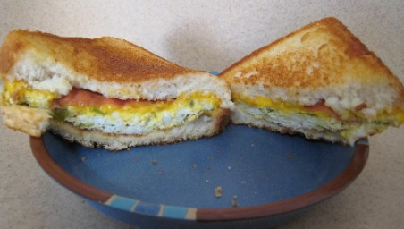 LotaBurger Breakfast Sandwich