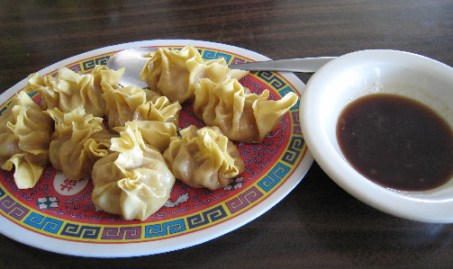 Homemade pot stickers (eight per order)