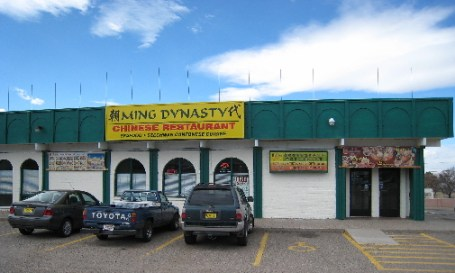 Ming Dynasty, the very best Chinese restaurant in New Mexico.