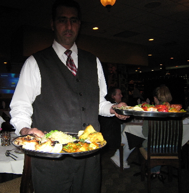Indian dinners headed for our table
