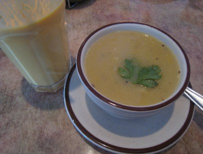 Mulligatawney, a melodic name for a savory soup.