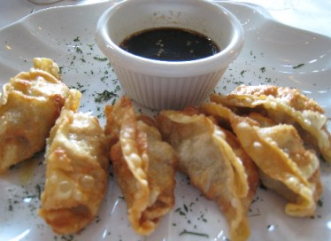 Age Cyoza, fried pot stickers