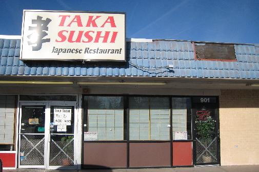Taka Sushi, a hidden gem on San Pedro