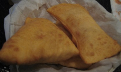 Sopaipillas--big and fluffy clouds of deliciousness!