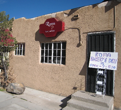 The Roma Bakery & Deli is a culinary oasis north of Albuquerque's downtown district.