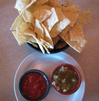 True to its name, Salsas Grill serves wonderful salsas (although sometimes a salsa seasoned with cumin is served)