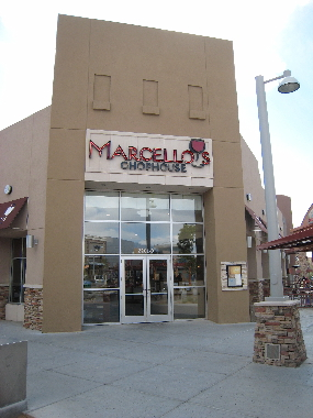 Marcello's Chophouse in Albuquerque's Uptown