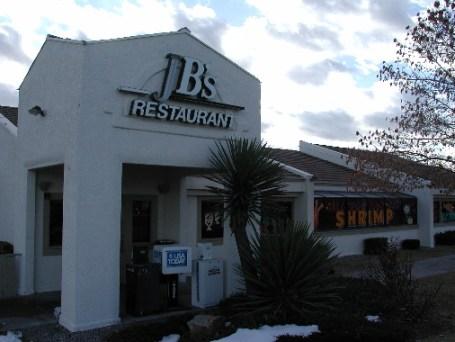JB's Restaurant is a popular dining destination in Rio Rancho.