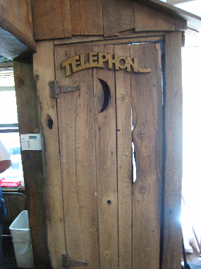 One of the most unique telephone booths in the Land of Enchantment