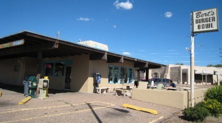 Bert's Burger Bowl in Santa Fe