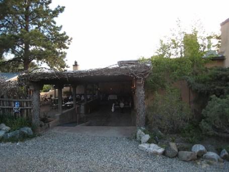 The entrance to Sabroso