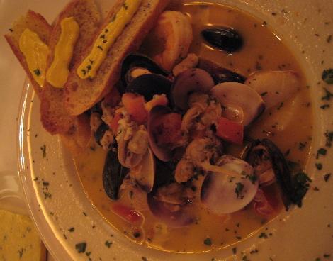 Seafood Bouilliabaisse