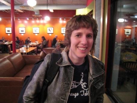 Susan Speidel, the restaurant's effusive owner