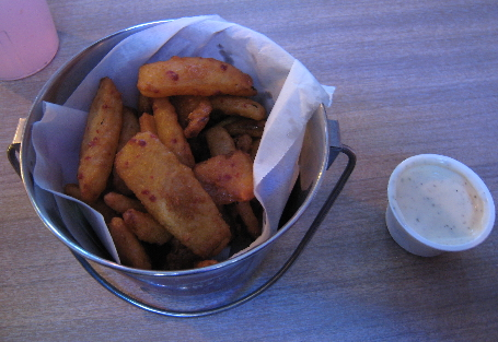 Beer Battered Onion Scoops