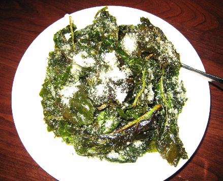 Spinach the way you've never had it