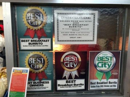 Award winning burritos are a staple at Golden Pride.