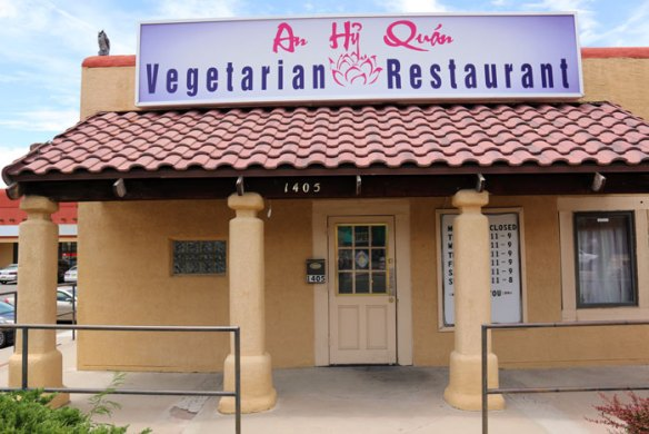 An Hy Quan Vegetarian Restaurant - Albuquerque, New Mexico