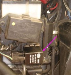 2004 thunderbird sport turn signal relay repair [ 1079 x 869 Pixel ]