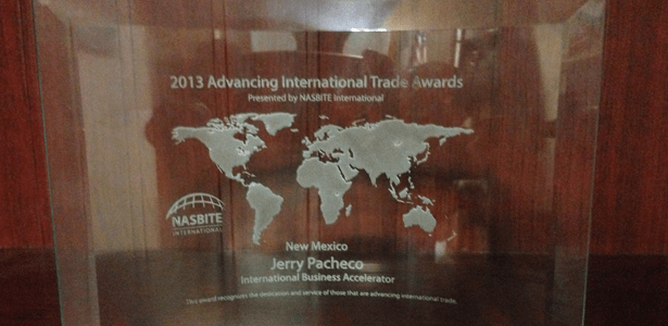IBA Awarded NASBITE International's 2013 Advancing International Trade Award