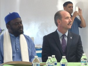 Imam Shafi and Mayor Berry