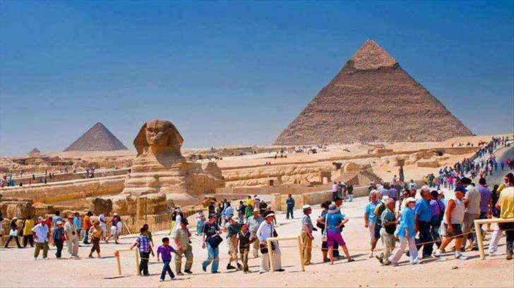 انتعاش السياحة المصرية