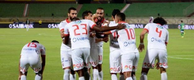 نتيجة مباراة الزمالك والمصري اليوم في الدوري المصري تقدم للأبيض