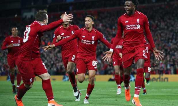 ليفربول يدمر برشلونة برباعية مؤلمة ويذهب الى نهائى دوري أبطال أوروبا