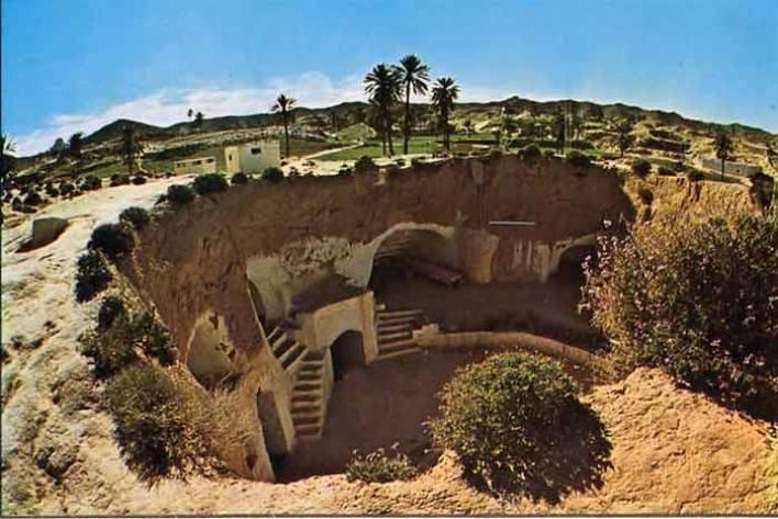 مطماطة: مدينة تحت الأرض في قلب الصحراء التونسية !