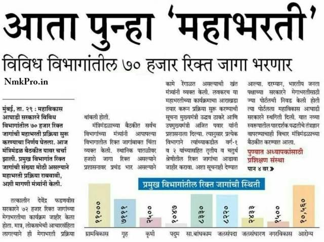 Maharashtra Maha Bharti 2020