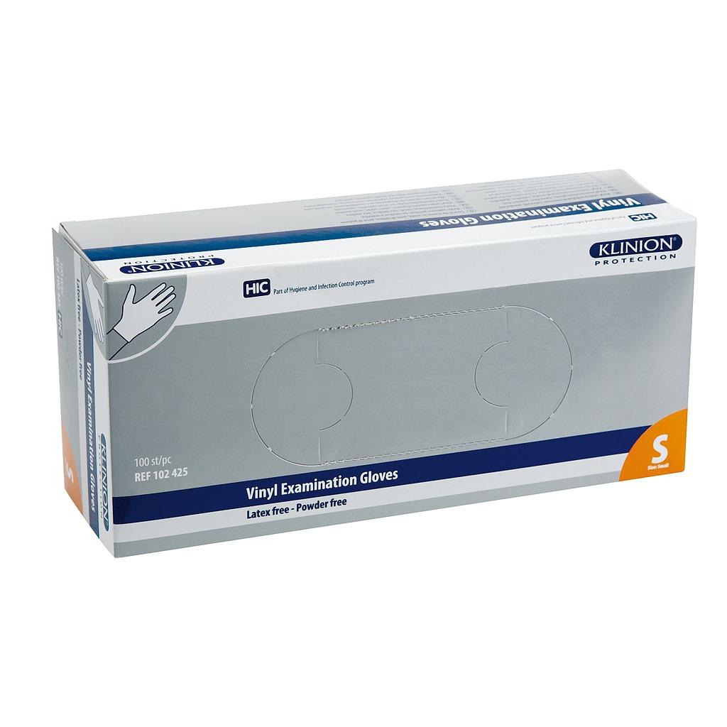 Gants vinyle Klinion protection emballage