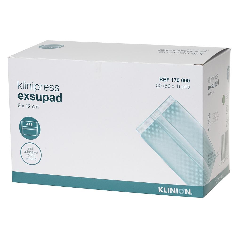 Emballage pansement compressifs Exsupad