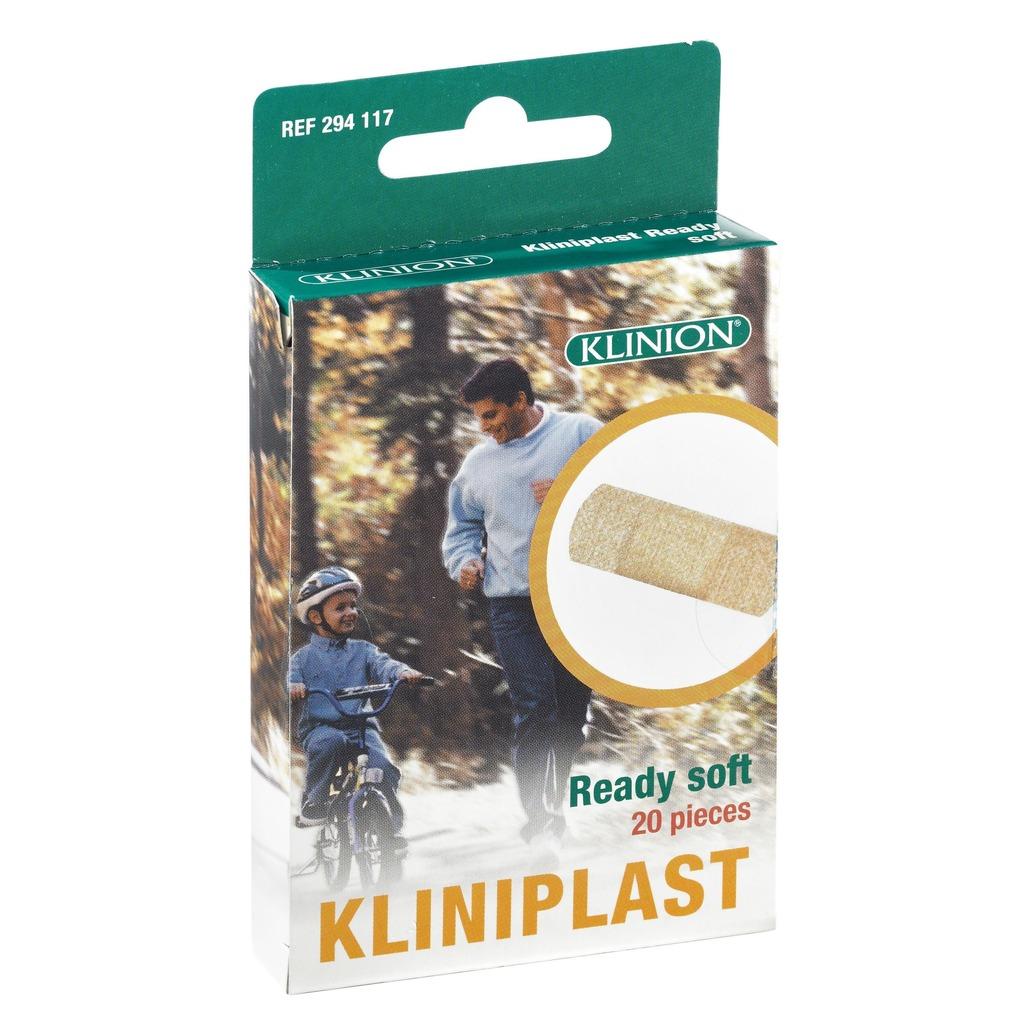 Pansement adhésif Kliniplast Ready Soft boite