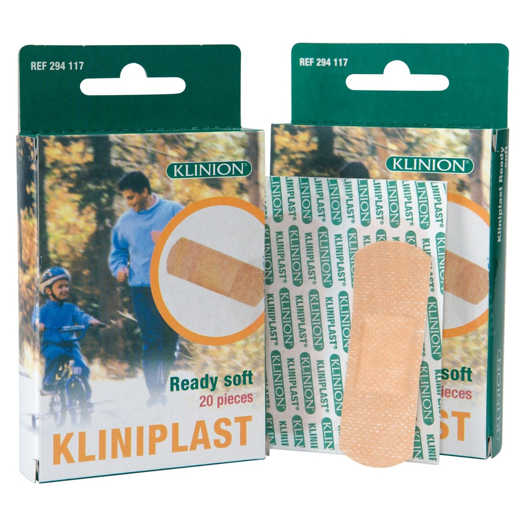 Pansement adhésif Kliniplast Ready Soft global