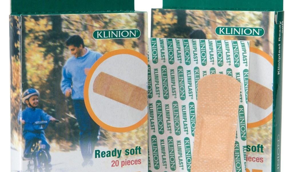 Pansement adhésif Kliniplast Ready Soft global