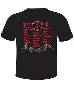 Image of 2019 POB T-Shirt back
