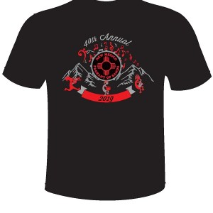 Image of 2019 POB T-Shirt front