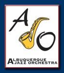 Albuquerque Jazz Orchestra (AJO) logo
