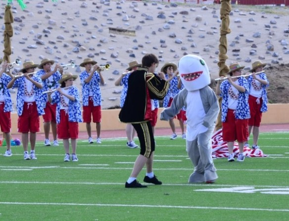 Sandia High School Matador Marching Band, NM Pageant of Bands, Erica Garcia