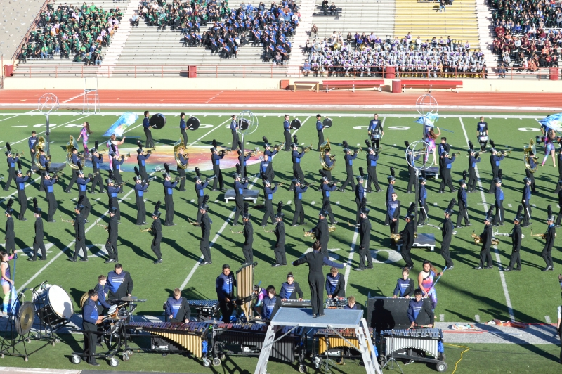 Photo of La Cueva High School Marching Band