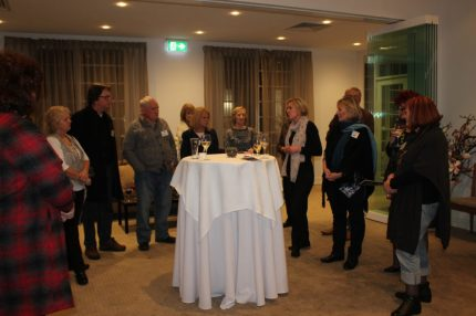 Cass from Brooklands of Mornington addressing the guests
