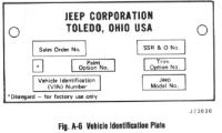 √ Jeep Cj7 Vin Decoder Chart | jeep vin decoder chart